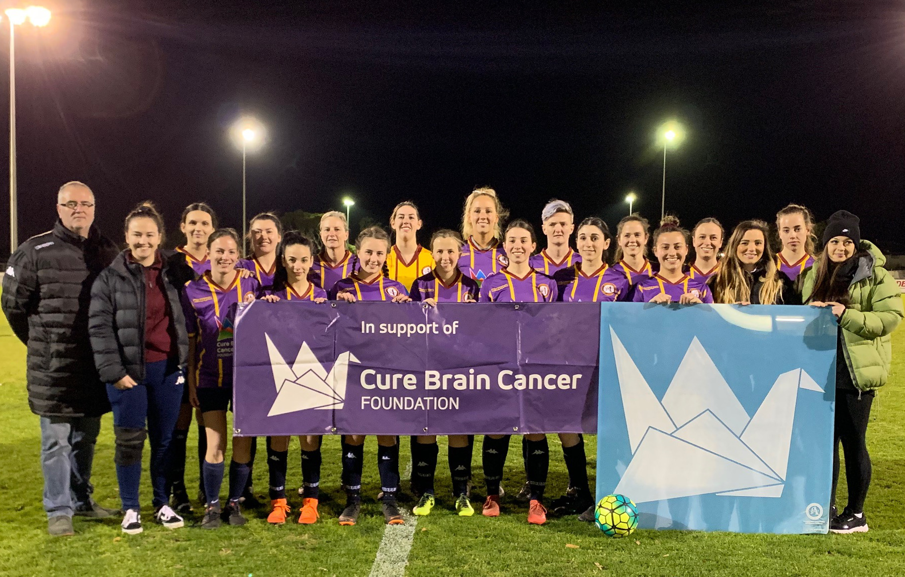 Senior Women's Charity – Cure Brain Cancer