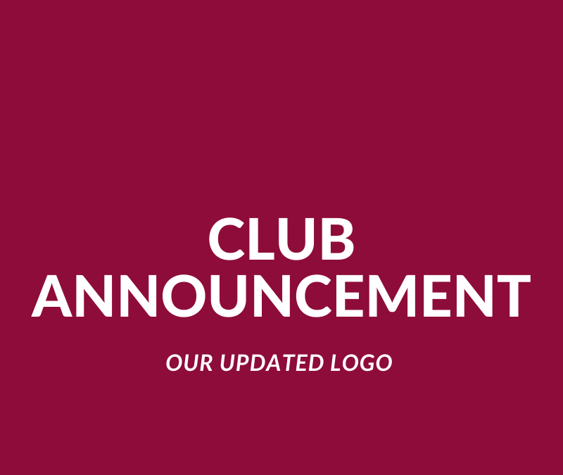 Club Announcement – Updated Logo