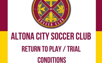ACSC – Return to Play / Trials Conditions