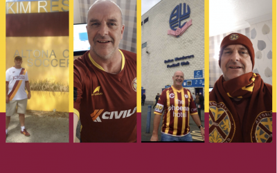 Meet Dave – ACSC's biggest fan from 12,000 miles away!