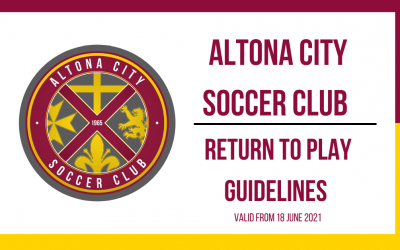 ACSC – Return to Play Guidelines